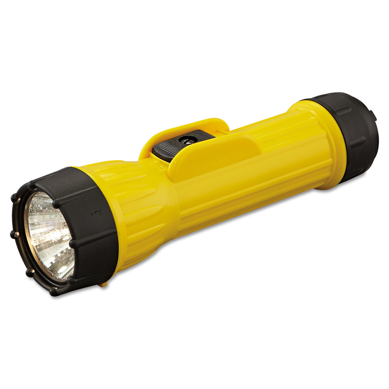 Sold Separately Bright Star Industrial Heavy-Duty Flashlight 2D Yellow//Black