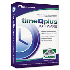 Acroprint® timeQplus Network Software Thumbnail