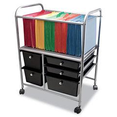 Advantus Letter/Legal File Cart with Five Storage Drawers Thumbnail