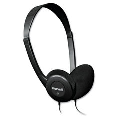 Maxell® HP-100 Headphones Thumbnail