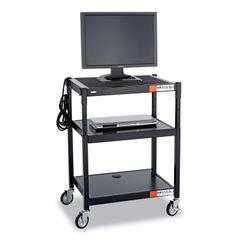 Safco® Adjustable-Height Steel AV Cart Thumbnail