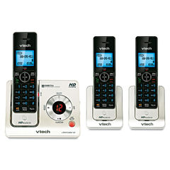 Vtech® LS6425-3 DECT 6.0 Cordless Voice Announce Answering System Thumbnail