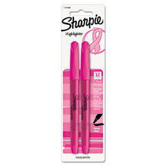 Sharpie® Pink Ribbon Pocket Style Highlighters Thumbnail