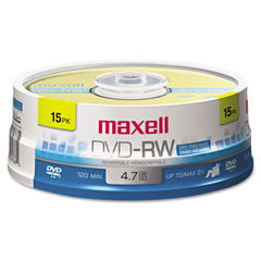 Maxell® DVD-RW Rewritable Disc Thumbnail