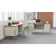 Alera® Double Pedestal Steel Desk Thumbnail