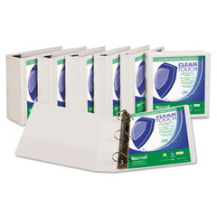 Samsill® Clean Touch™ Locking D-Ring View Binder Protected with an Antimicrobial Additive Thumbnail