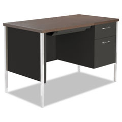 Alera® Single Pedestal Steel Desk Thumbnail