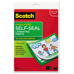 Scotch™ Self-Sealing Laminating Sheets Thumbnail