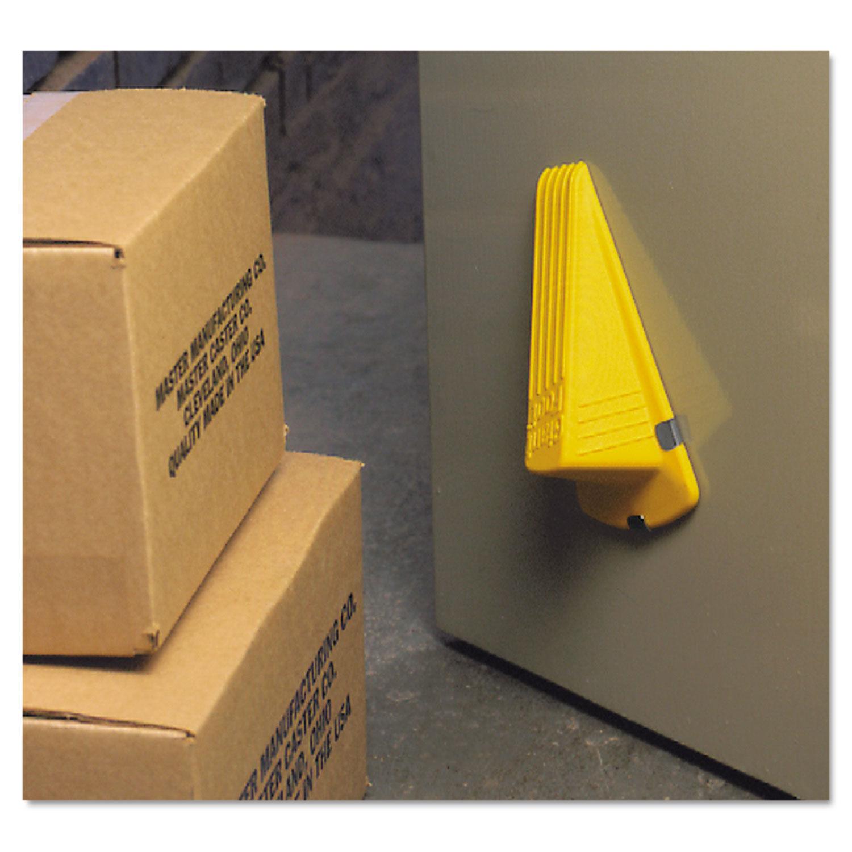 MAS00967   Master Caster Giant Foot Magnetic Doorstop Yellow