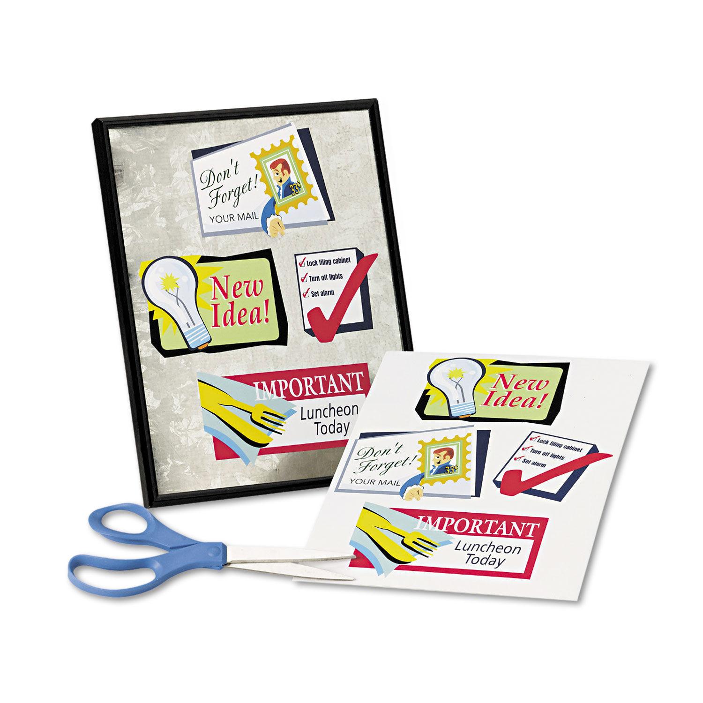 image regarding Printable Magnet Sheets identified as Printable Magnet Sheets, 8.5 x 11, White, 5/Pack
