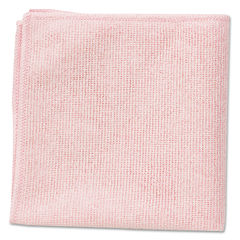 RCP1820581 - Microfiber Cleaning Cloths, 16 x 16, Pink, 24/Pack