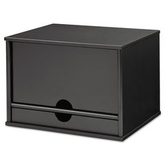 Victor® Midnight Black Collection™ Desktop Organizer Thumbnail