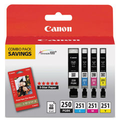 Canon® 6497B004 Inks & Paper Pack Thumbnail