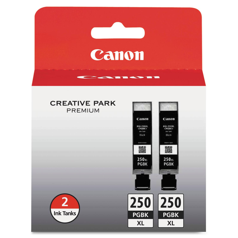 Canon 6497B001 PGI-250 ChromaLife100 Ink Black