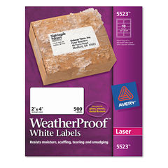 Avery® WeatherProof™ Durable Labels