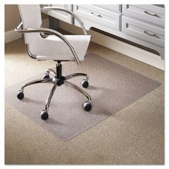 ES Robbins® EverLife® Light Use Chair Mat for Flat Pile Carpet Thumbnail