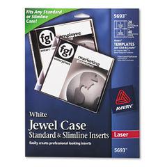 Avery® Jewel Case Inserts Thumbnail