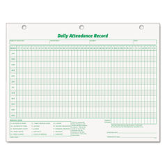 TOPS™ Daily Attendance Card Thumbnail