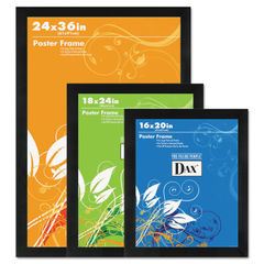 DAX® Black Solid Wood Poster Frames Thumbnail