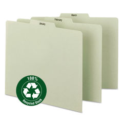Smead® 100% Recycled Monthly Top Tab File Guide Set Thumbnail