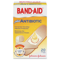 BAND-AID® Antibiotic Bandages Thumbnail