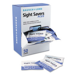 Bausch & Lomb Sight Savers PLUS Pre-Moistened Electronic Cleaning Tissues Thumbnail