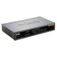 D-Link® 8-Port Ethernet/PoE Desktop Switch Thumbnail