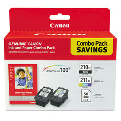 Canon® 2973B004 Ink & Paper Pack Thumbnail