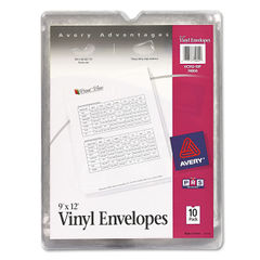 Avery® Heavyweight Clear Vinyl Envelope