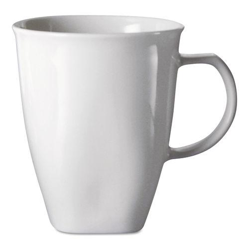 Chef S Table Fine Porcelain Coffee Mugs 16oz White 8 Box