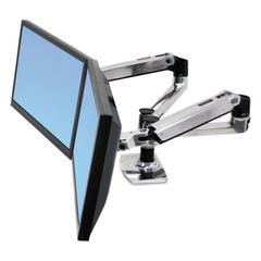 Ergotron® LX Dual Side-by-Side Arm Thumbnail