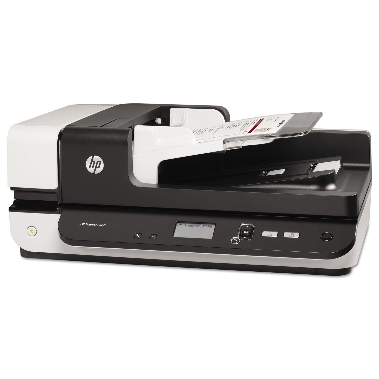Scanjet Enterprise Flow 7500 Flatbed Scanner By Hp Hewl2725b Ontimesupplies Com
