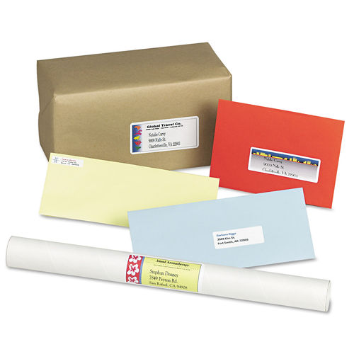 Environmentally Friendly Avery Shipping and Mailing Labels at On Time Supplies