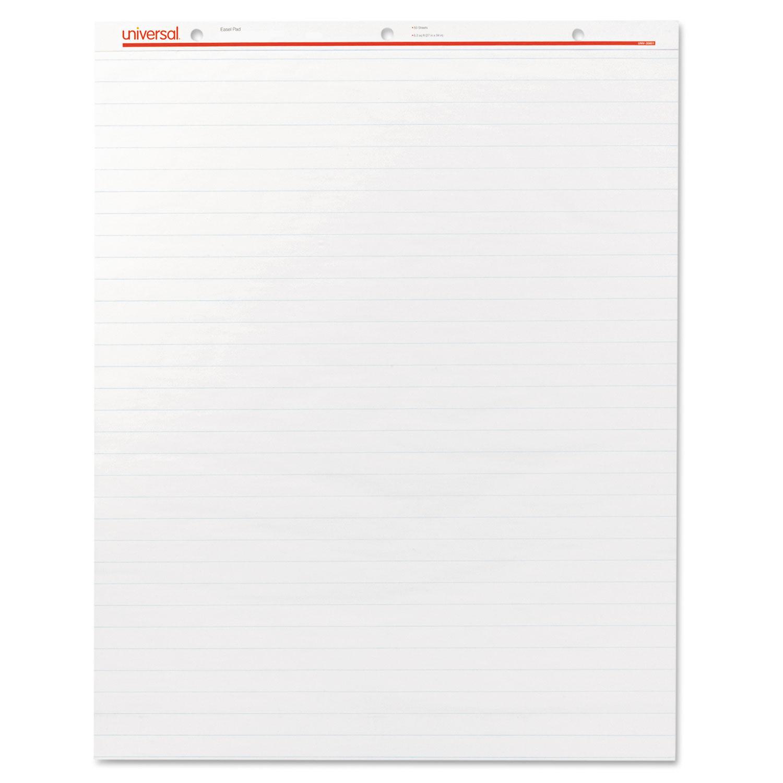 2//Carton White 50 Sheets Easel Pads//Flip Charts 27 x 34