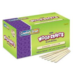 Chenille Kraft® Natural Wood Craft Sticks Thumbnail