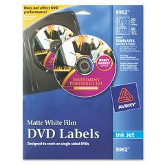 Avery® Inkjet DVD Labels Thumbnail