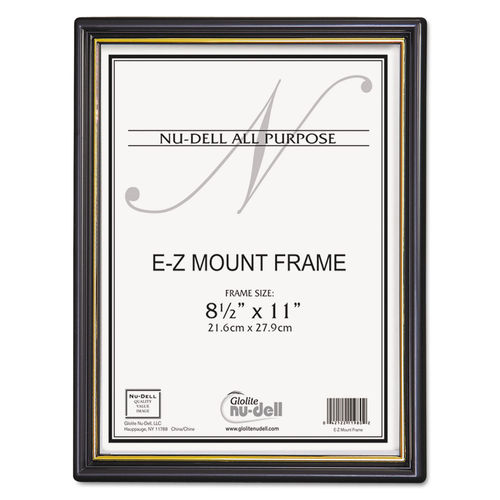 cb734704323a EZ Mount Document Frame w Trim Accent by NuDell™ NUD11818 ...