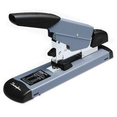 SWI39005 - Heavy-Duty Stapler, 160-Sheet Capacity, Black/Gray