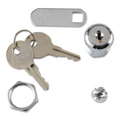 Rubbermaid® Commercial Replacement Lock & Key for Locking Janitor Cart Cabinet Thumbnail