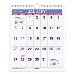 AT-A-GLANCE® Mini Monthly Wall Calendar Thumbnail