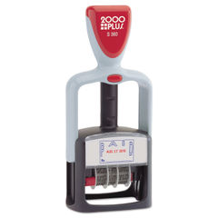 COSCO 2000PLUS® Self-Inking Two-Color Word Dater Thumbnail