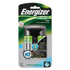 Energizer® Recharge Pro Charger with 4 AA Rechargeable Batteries Thumbnail