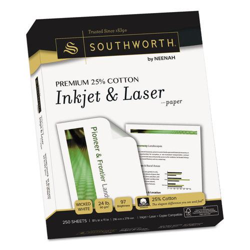premium 25  cotton paper by southworth u00ae souj344c