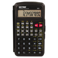 Victor® 920 Compact Scientific Calculator with Hinged Case Thumbnail