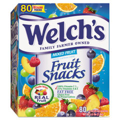 Welch's® Fruit Snacks Thumbnail