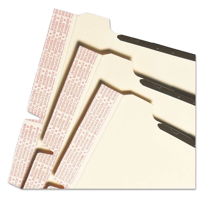 Self-Adhesive Folder Dividers For Top/End Tab Folders W/ 2