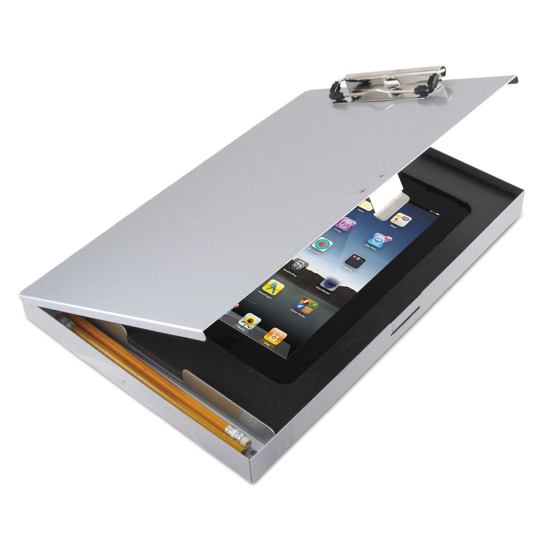 Saunders Tuffwriter Recycled Aluminum Storage Clipboard for iPad 2//3 8 1//2 x 12