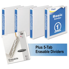 Mead® Economy Round-Ring View Binder Plus Pack Thumbnail