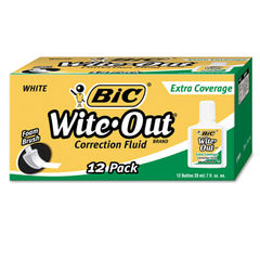 BIC® Wite-Out® Brand Extra Coverage Correction Fluid Thumbnail
