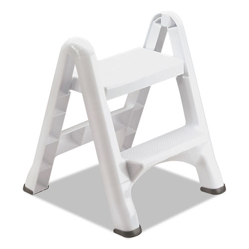 Ez Step Two Step Folding Stool By Rubbermaid 174 Rcp4209ct